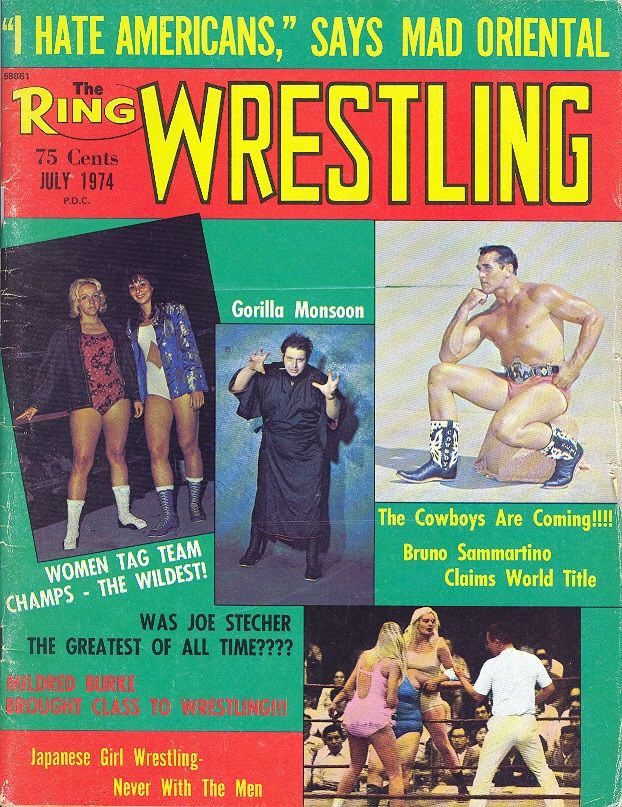 The Ring Wrestling - July 1974
