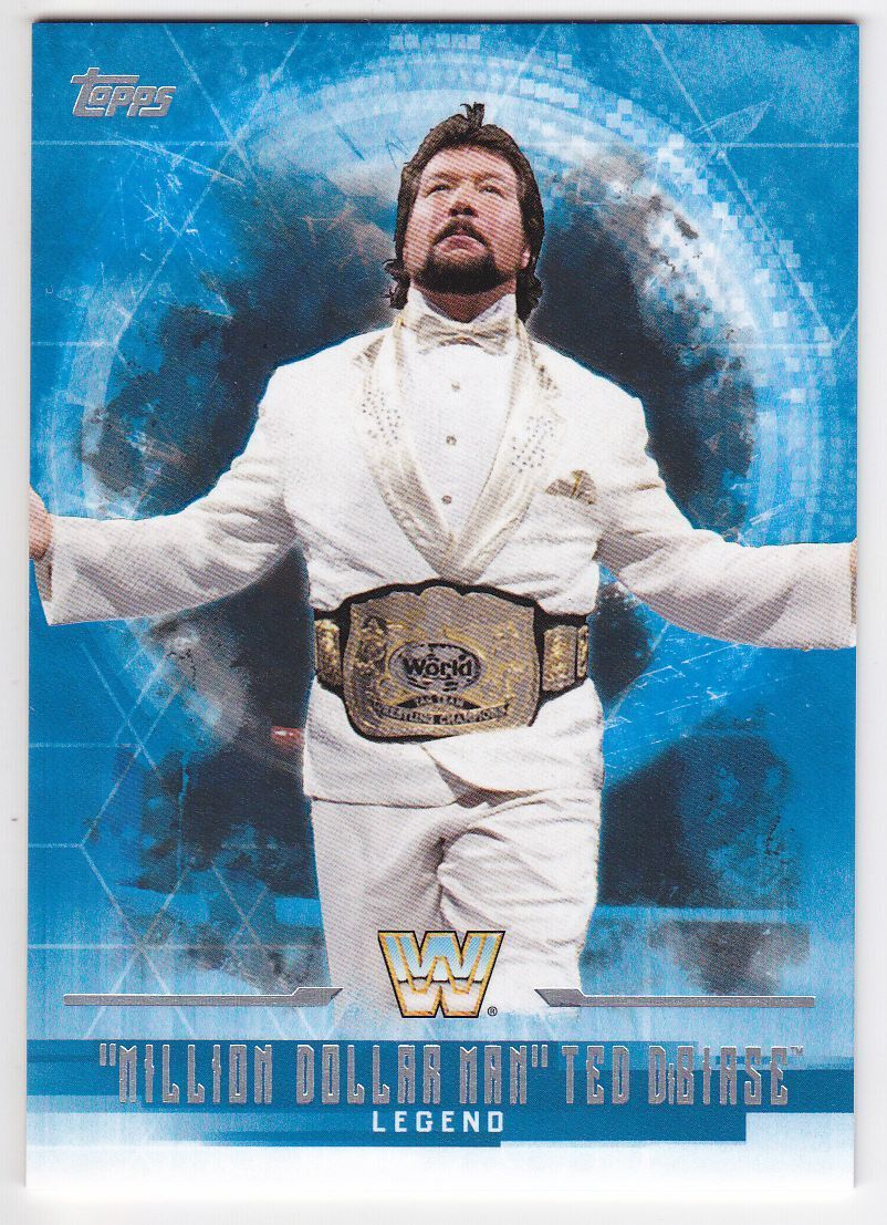 2017 WWE Undisputed Wrestling Cards (Topps) Ted DiBiase (No.64)