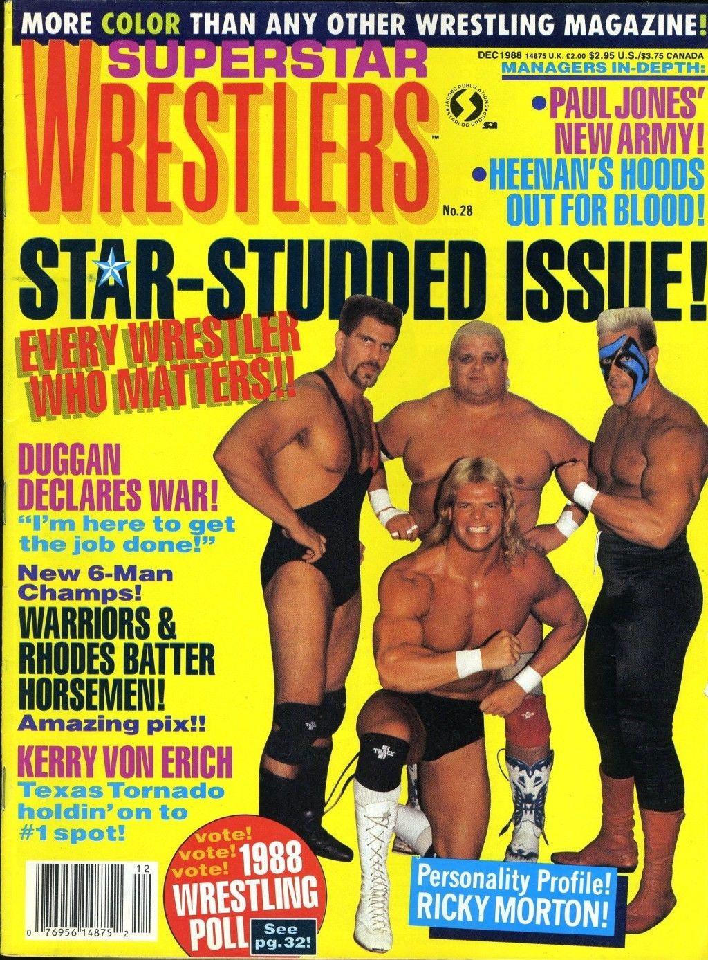 Superstar Wrestlers - December 1988