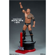 The Rock Scale Collectible Statue