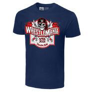 WrestleMania 37 Wooden Sign T-Shirt