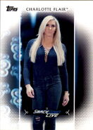 2017 WWE Women's Division (Topps) Charlotte Flair 29