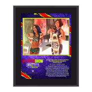 Bayley The Horror Show At Extreme Rules 2020 10x13 Commemorative Plaque