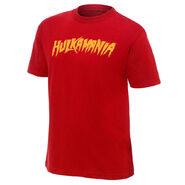 Hulk Hogan Hulkamania Red Authentic T-Shirt