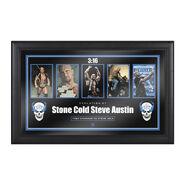 Stone Cold Steve Austin Evolution of a Hall of Famer Plaque