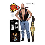 Stone Cold Steve Austin Fathead 5-Piece Wall Decals