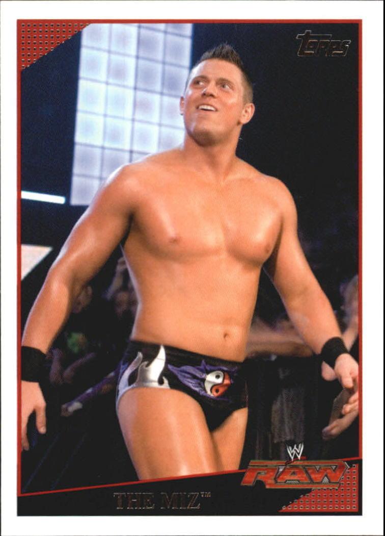 2009 WWE (Topps) The Miz (No.47)