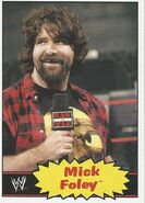 2012 WWE Heritage Trading Cards Mick Foley 52