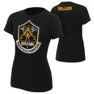 Braun Strowman The Monster of All Monsters Women's Authentic T-Shirt