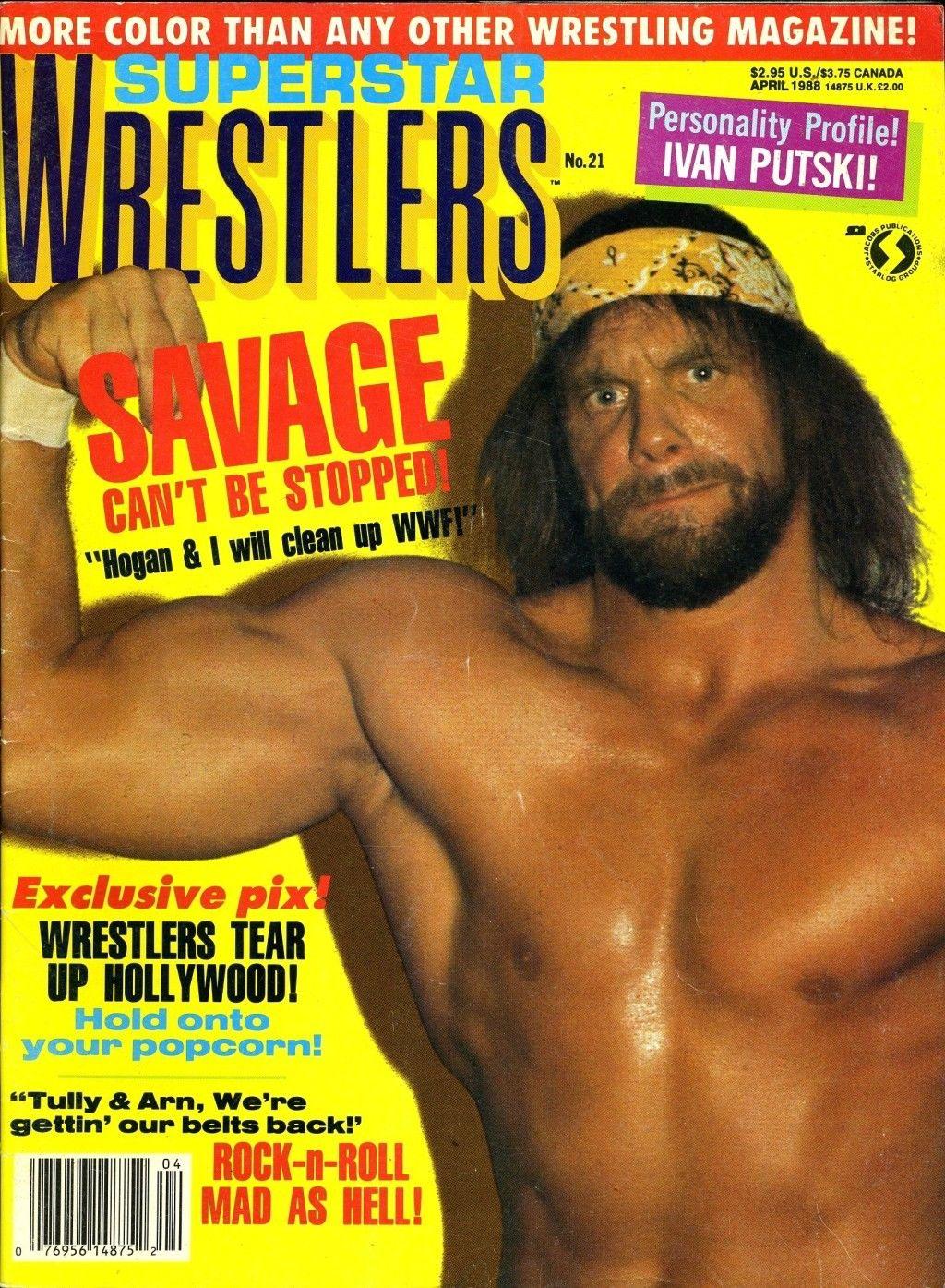 Superstar Wrestlers - April 1988