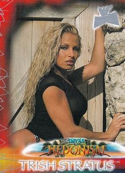 2001 WWF The Ultimate Diva Collection (Fleer) Trish Stratus (No.89)