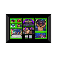 Jinder Mahal WrestleMania 34 Signed Commemorative Plaque