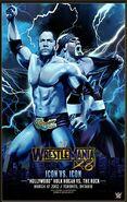 WrestleMania X8 The Rock vs Hulk Hogan Legendary Moments Poster