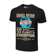 Daniel Bryan Still The Planet's Champion Authentic T-Shirt