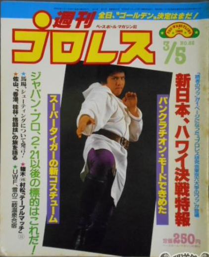 Weekly Pro Wrestling No. 82