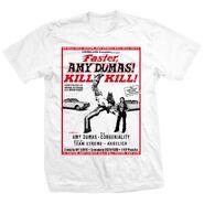 Amy Dumas Faster, Amy! Kill! Kill! Shirt