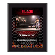 Elias Hell In A Cell 2020 10x13 Commemorative Plaque