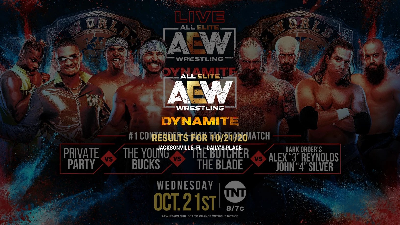 October 21, 2020 AEW Dynamite results