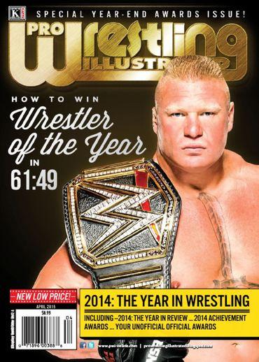 Pro Wrestling Illustrated - April 2015