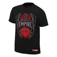 Roman Reigns From Ashes to Empire Youth Authentic T-Shirt