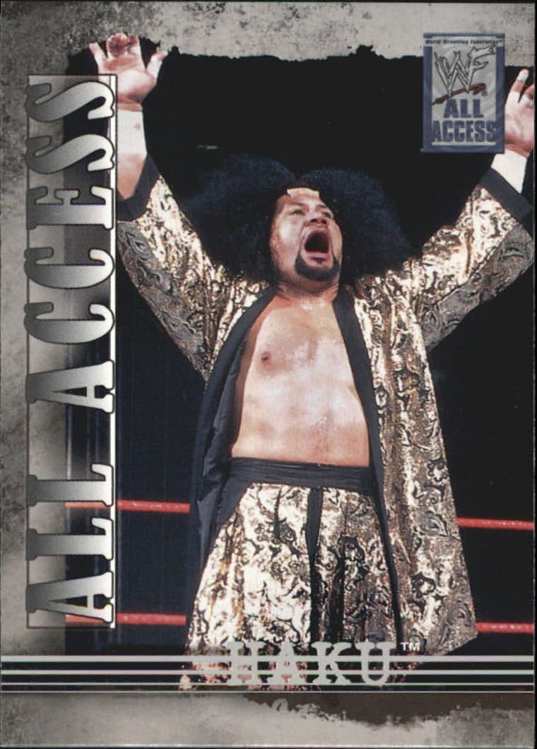 2002 WWF All Access (Fleer) Haku (No.6)