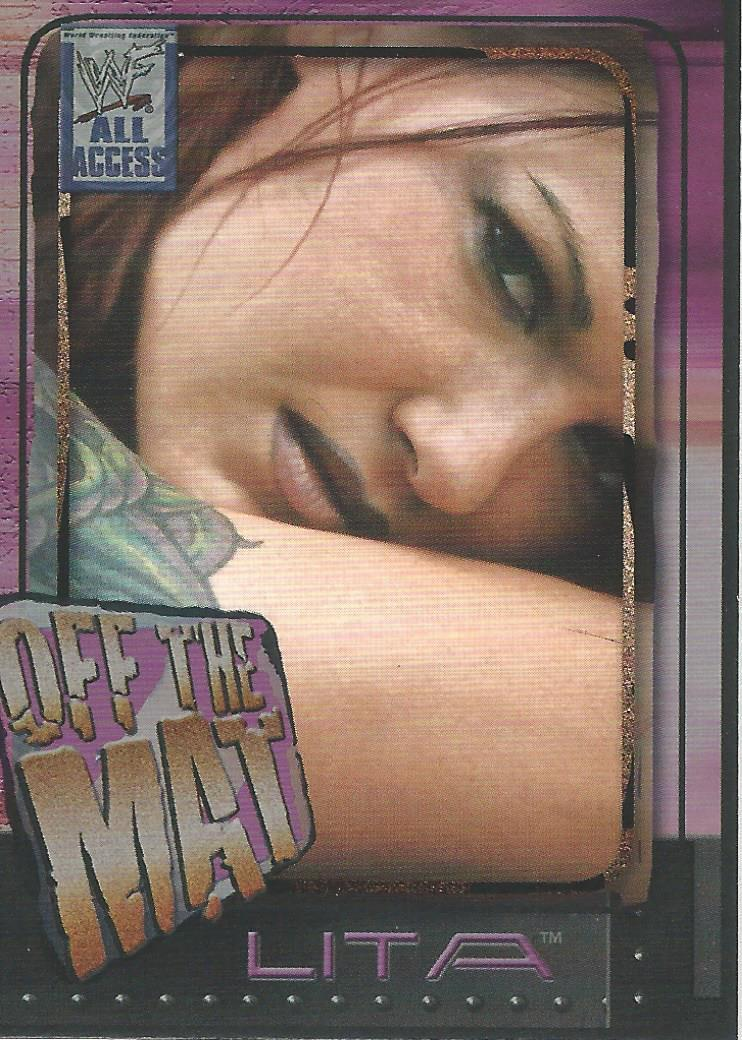 2002 WWF All Access (Fleer) Lita (No.53)