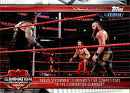 2019 WWE Road to WrestleMania Trading Cards (Topps) Braun Strowman 97