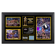 Cesaro Andre The Giant Memorial Battle Royal Signed Commemorative Plaque
