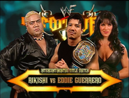 Rikishi vs. Eddie Guerrero Unforgiven 2000