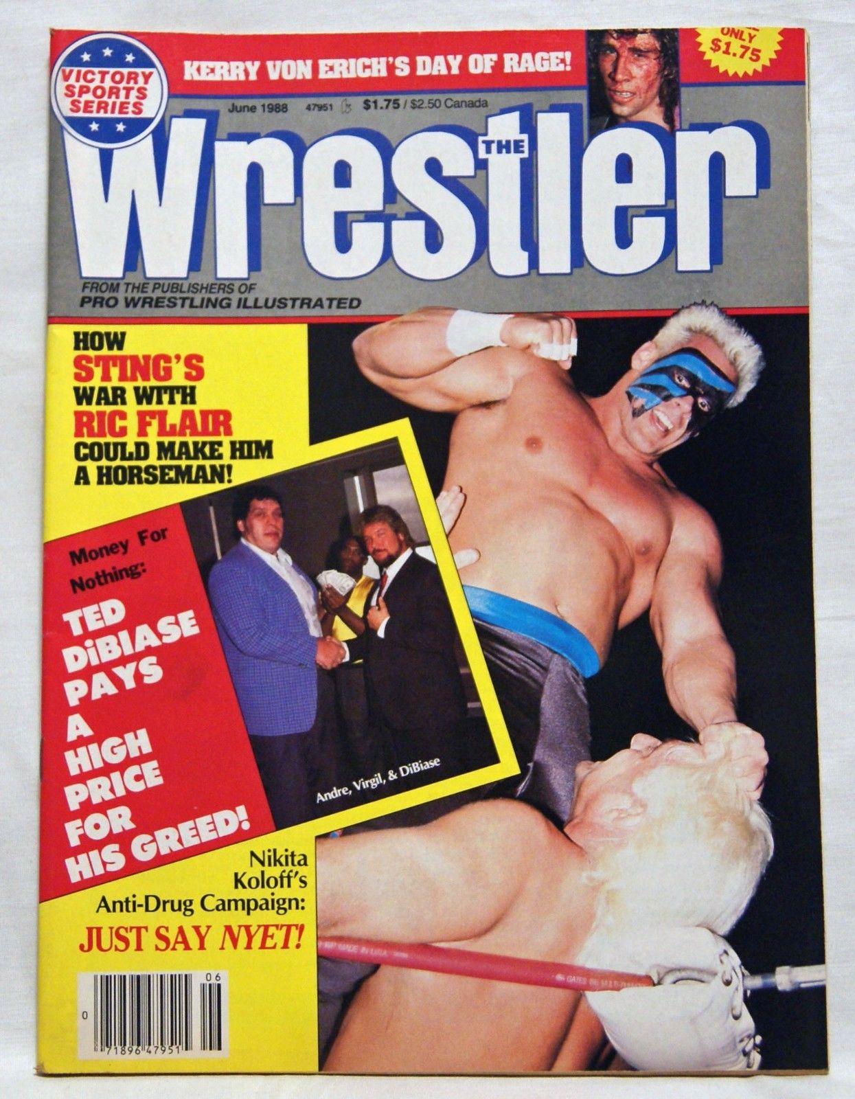 The Wrestler - June 1988
