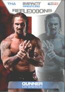 2012 TNA Impact Wrestling Reflexxions Trading Cards (Tristar) Gunner 34