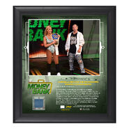 Carmella Money in The Bank 2018 15 x 17 Framed Plaque w Ring Canvas