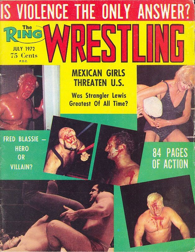 The Ring Wrestling - July 1972