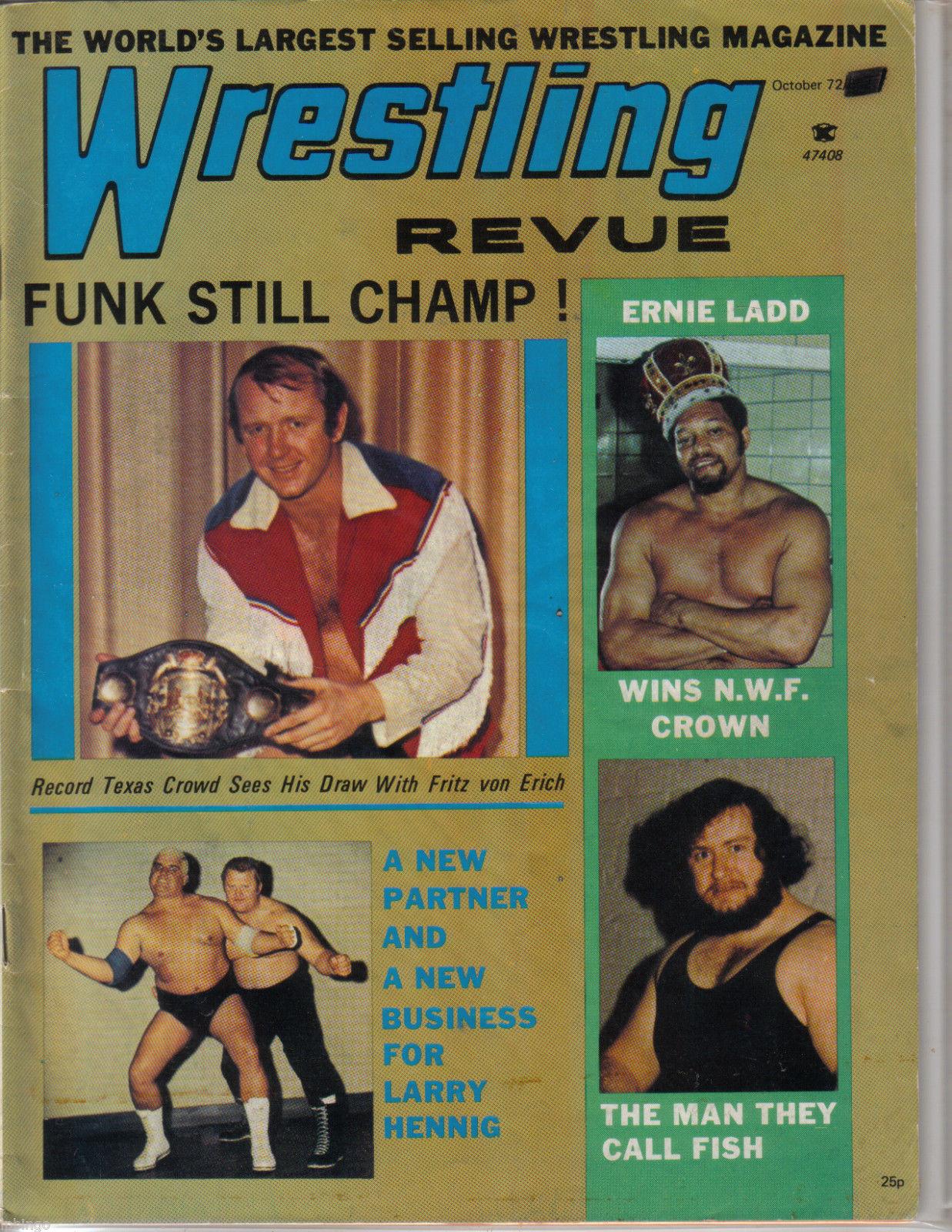 Wrestling Revue - October 1972