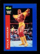 1991 WWF Classic Superstars Cards Hulk Hogan 35