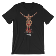 BOBBY LASHLEY & MICKIE JAMES MMC PHOTO UNISEX T-SHIRT