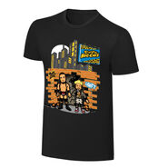 WWE x NERDS Enzo & Cass Realest Guys in The Room Cartoon T-Shirt