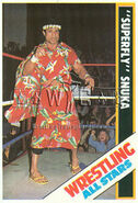 1985 Wrestling All Stars Trading Cards Superfly Jimmy Snuka 34