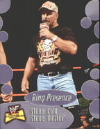 2001 WWF The Ultimate Diva Collection (Fleer) Stone Cold Steve Austin 57