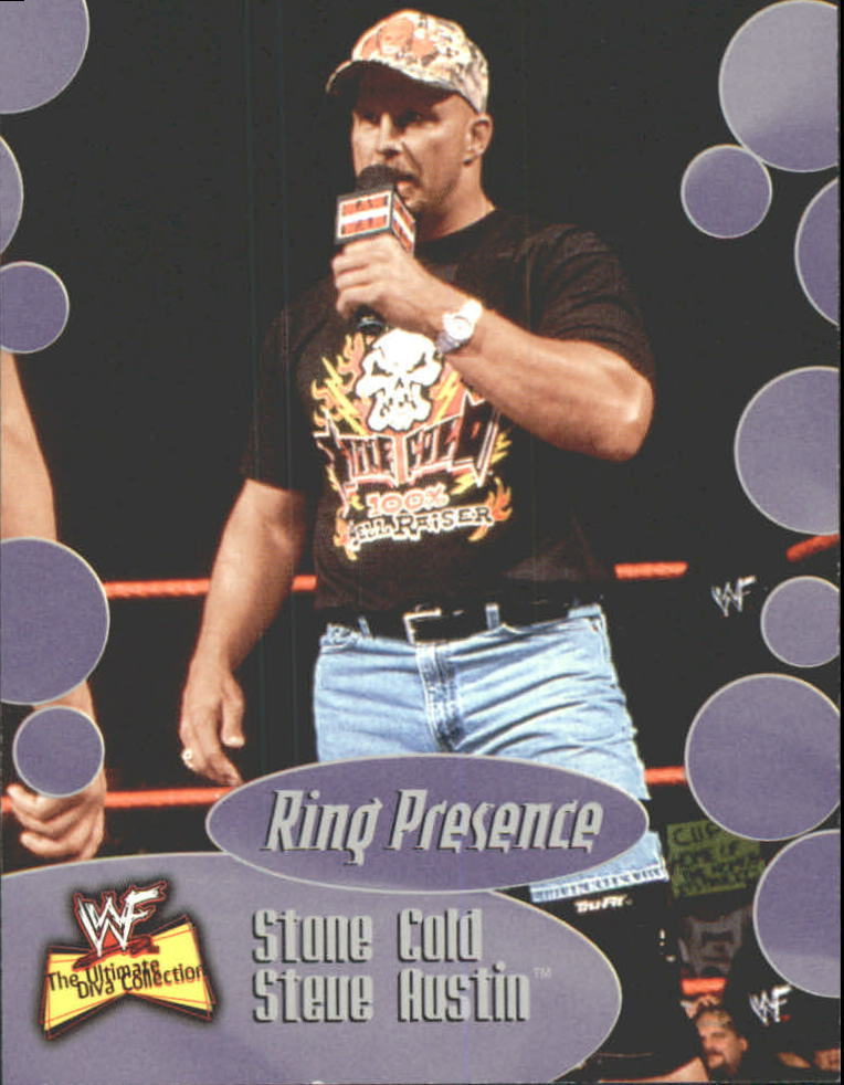 2001 WWF The Ultimate Diva Collection (Fleer) Stone Cold Steve Austin (No.57)