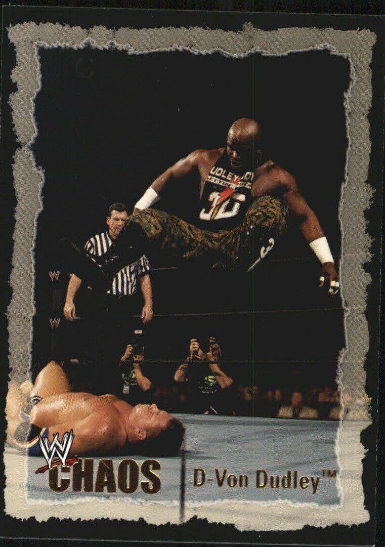 2004 WWE Chaos (Fleer) D-Von Dudley (No.46).jpg