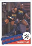 2015 WWE Heritage Wrestling Cards (Topps) The Prime Time Players 83