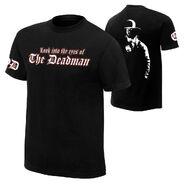 Undertaker Eyes of a Deadman Retro T-Shirt