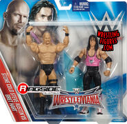 WWE Battle Packs WrestleMania 32 Stone Cold Steve Austin & Bret Hart
