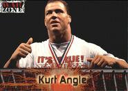 2001 WWF RAW Is War (Fleer) Kurt Angle 59