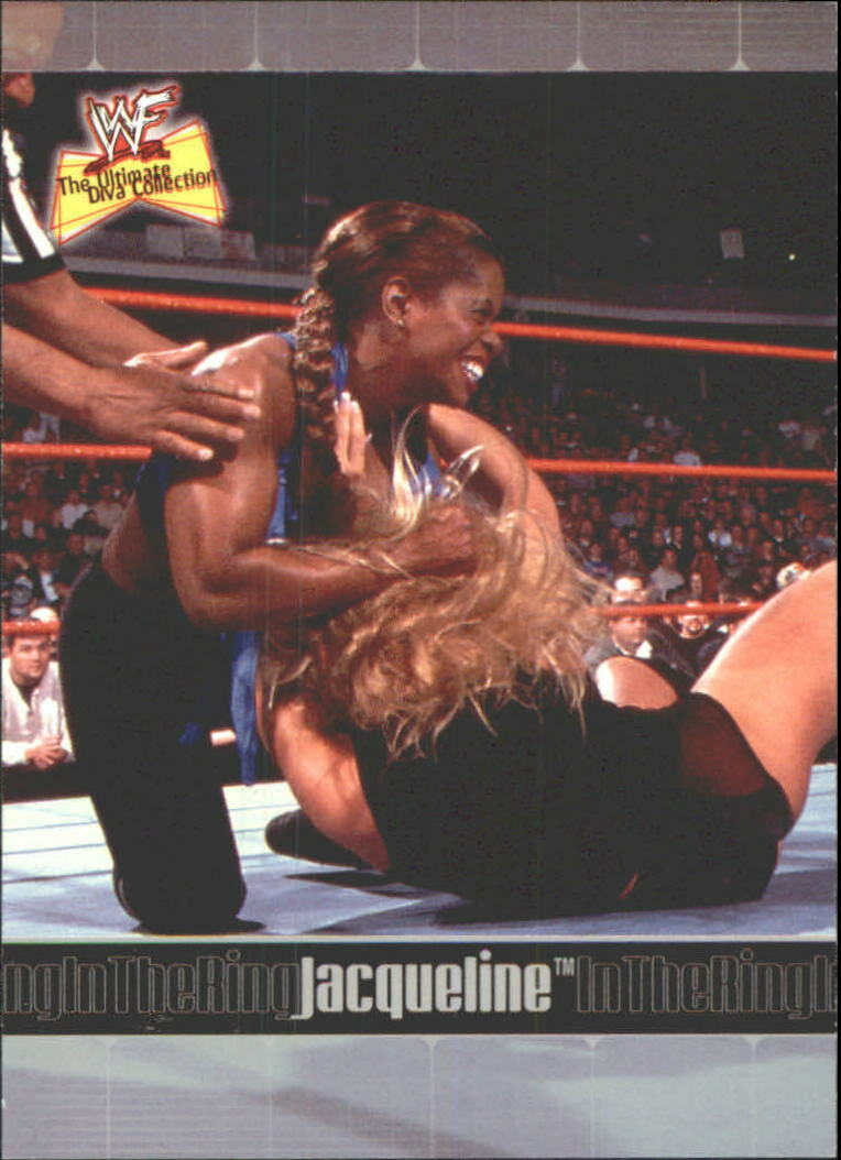 2001 WWF The Ultimate Diva Collection (Fleer) Jacqueline (No.72)