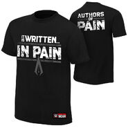 Authors of Pain It is Written in Pain Youth Authentic T-Shirt