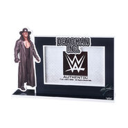 Undertaker Vengeance Unearthed Picture Frame