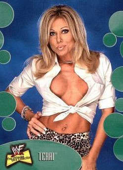 2001 WWF The Ultimate Diva Collection (Fleer) Terri (No.21)