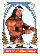 2008 WWE Heritage IV Trading Cards (Topps) Superfly Jimmy Snuka 82
